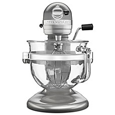 image of KitchenAid® Pro 600 Stand Mixer with 6-Quart Glass Bowl