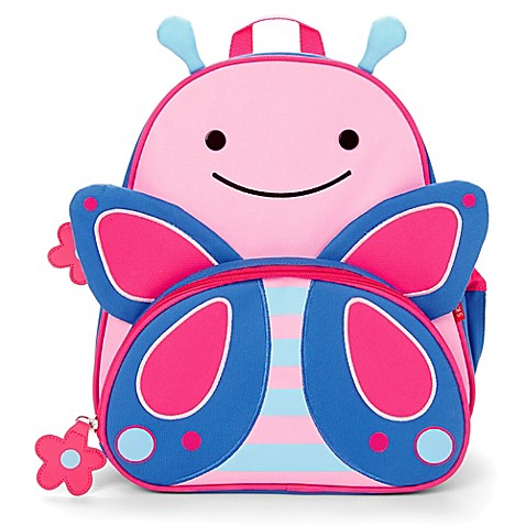 SKIP*HOP® Zoo Pack Little Kid Backpack in Butterfly - buybuy BABY