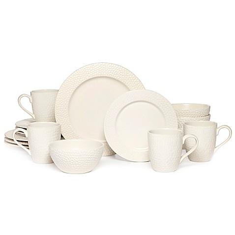 Gourmet Basics by Mikasa\u0026reg; Hayes 16-Piece Dinnerware Set in White  sc 1 st  Bed Bath \u0026 Beyond & Gourmet Basics by Mikasa® Hayes 16-Piece Dinnerware Set in White ...
