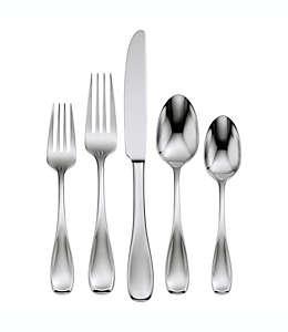 Set de cubiertos de acero inoxidable Oneida™ Voss con acabado satinado, 45 piezas
