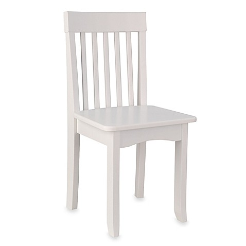 kidkraft avalon chair in white bed bath beyond