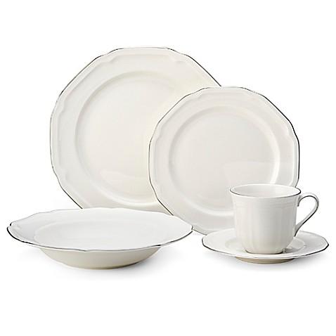 Mikasa\u0026reg; Antique White Platinum Dinnerware  sc 1 st  Bed Bath \u0026 Beyond & Mikasa® Antique White Platinum Dinnerware - Bed Bath \u0026 Beyond