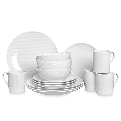 Mikasau0026reg; Cheers White 16-Piece Dinnerware Set  sc 1 st  Bed Bath u0026 Beyond : dinnerware 16 piece - pezcame.com