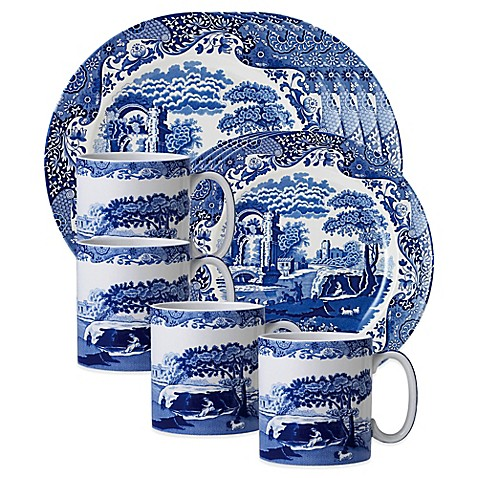 Spode\u0026reg; Blue Italian Dinnerware Collection  sc 1 st  Bed Bath \u0026 Beyond & Spode® Blue Italian Dinnerware Collection - Bed Bath \u0026 Beyond