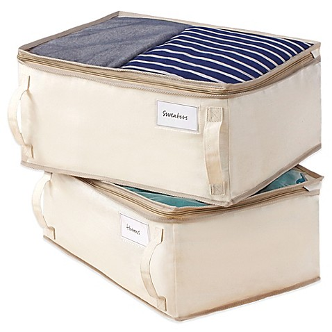 Storage Bags, Vinyl Chests & Bamboo Bags - Bed Bath & Beyond : quilt storage bags - Adamdwight.com