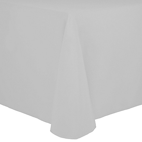 Buy Spun Polyester 60 Inch X 90 Inch Oblong Tablecloth In