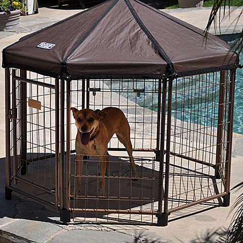 Advantek The Original 4 Foot Cabana Pet Gazebo Bed Bath