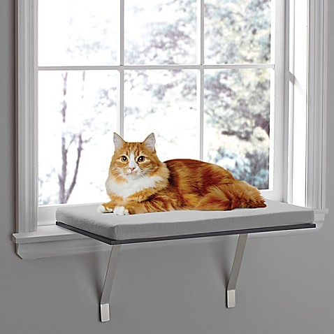 Good Pawslifeu0026trade; Deluxe Window Cat Perch