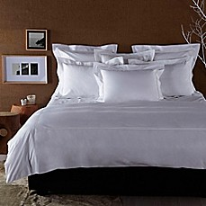 image of Frette At Home Piave Duvet Cover in White