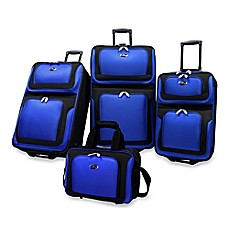image of U.S. Traveler New Yorker 4-Piece Wheeled Luggage Set