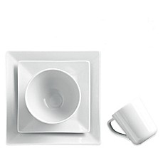 image of Real Simple® Square 4-Piece Place Setting in White