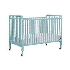 image of DaVinci Jenny Lind Crib with Toddler Bed Kit in Lagoon