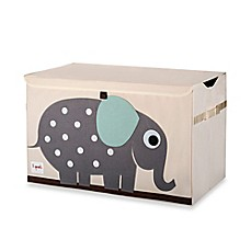 image of 3 Sprouts Toy Chest in Elephant