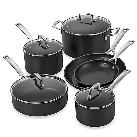 le creuset toughened nonstick cookware bed bath beyond. Black Bedroom Furniture Sets. Home Design Ideas
