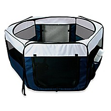 image of Trixie Soft Sided Mobile Play Pen