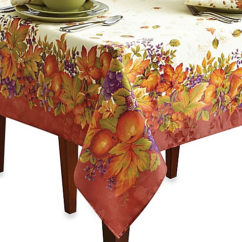 Harvest Jubilee Spice Table Linens Bed Bath Amp Beyond