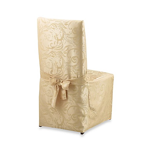 autumn scroll damask dining room chair cover bed bath emejing damask dining room chairs images ltrevents com