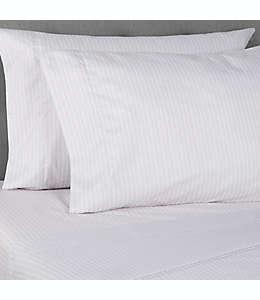 Fundas de microfibra para almohadas estándar/queen Simply Essential™ color gris chevrón