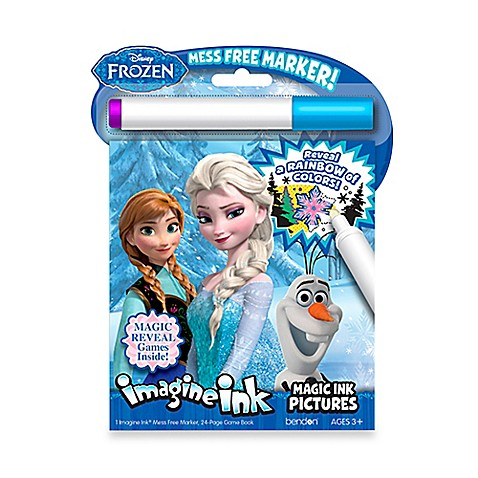 disney frozen imagine ink magic ink with marker activity book - Magic Marker Coloring Book