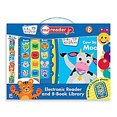 image of Baby Einstein Me Reader Jr. Electronic Reader and 8-Book Set