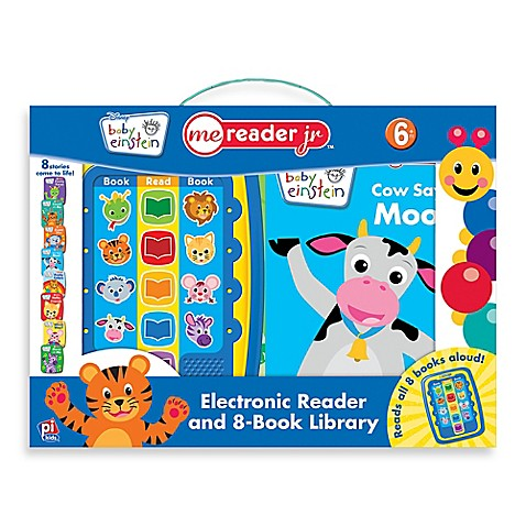 Baby Einstein Me Reader Jr Electronic Reader And 8 Book