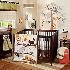 image of Lambs & Ivy® Treetop Buddies Crib Bedding Collection