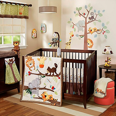 Lambs Amp Ivy 174 Treetop Buddies Crib Bedding Collection Bed Bath Amp Beyond