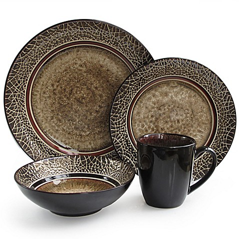 American Atelier Markham Square 16-Piece Dinnerware Set  sc 1 st  Bed Bath u0026 Beyond & American Atelier Markham Square 16-Piece Dinnerware Set - Bed Bath ...