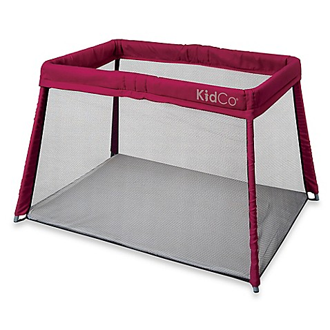 Image Of Kidco Travel Pod Portable Playard In Cranberry