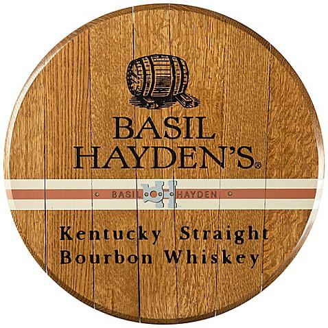 Basil Hayden\'s Bourbon Barrel Head Wall Décor - Bed Bath & Beyond