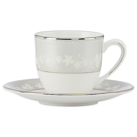 buy lenox bellina demitasse cup and saucer from bed bath beyond. Black Bedroom Furniture Sets. Home Design Ideas