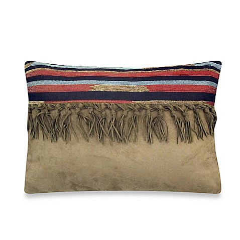 Throw Pillow With Tassels : Buy Veratex Santa Fe Tassel Oblong Throw Pillow from Bed Bath & Beyond