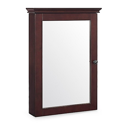 Crosley Lydia Mirrored Wall Cabinet Bed Bath Beyond