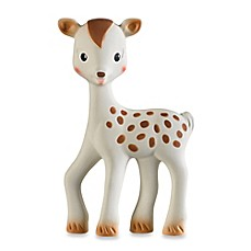 image of Sophie la Girafe® Fanfan the Fawn Soft Rubber Teether Toy