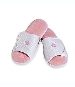 Pantuflas chicas/medianas con áloe Earth Therapeutics®, en rosa
