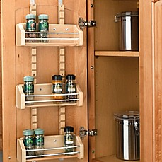 image of Rev-A-Shelf® Adjustable Door Mount Spice Rack