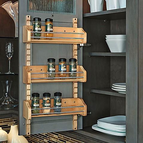 Buy Rev A Shelf 174 Medium Adjustable Door Mount Spice Rack