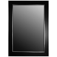 White Framed Wall Mirror wall mirrors - large & small mirrors, decorative wall mirrors