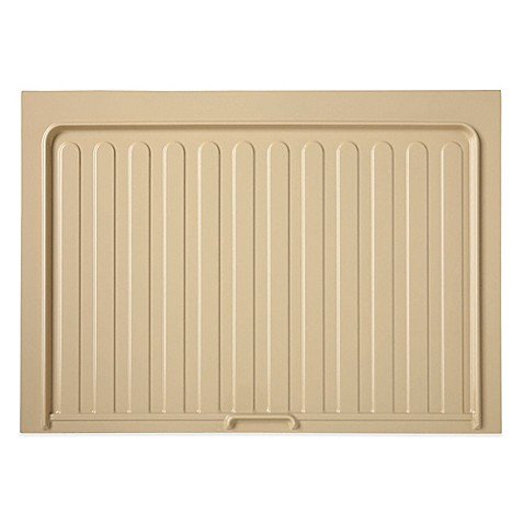 Rev a shelf under sink base drip tray bed bath beyond for Under sink cabinet tray