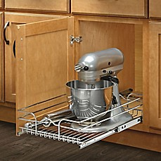 image of Rev-A-Shelf® Single Tier Pull-Out Wire Basket