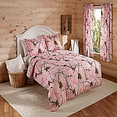 image of Realtree® AP Comforter Set in Pink