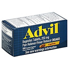 image of Advil 100-Count 200 mg Caplets