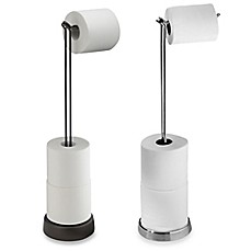 stand up toilet paper holder | Bed Bath & Beyond