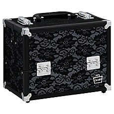 image of Caboodles® Medium Train Case in Black Lace
