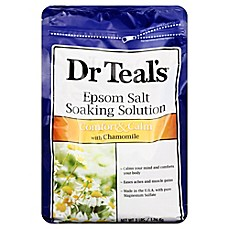 image of Dr. Teal's Therapeutic Solutions 48 oz. Epsom Salt Calm Soaking Solution in Chamomile