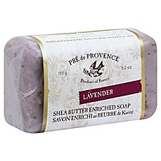 image of Pre de Provence Shea Butter Enriched Soap Bar in Lavender