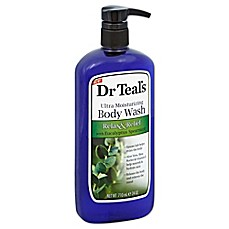 image of Dr. Teal's® Ultra Moisturizing 24 oz. Relax & Relief Body Wash with Eucalyptus Spearmint