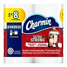 image of Charmin Ultra Strong® 4-Pack Double Roll Bathroom Tissue