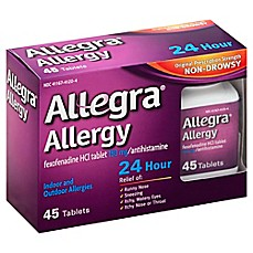 image of Allegra® Allergy 45-Count 24-Hour Antihistamine