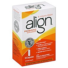 image of Align 42-Count B. infantis 35624 Probiotic Supplement Capsules